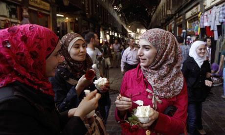 Malam di Syria